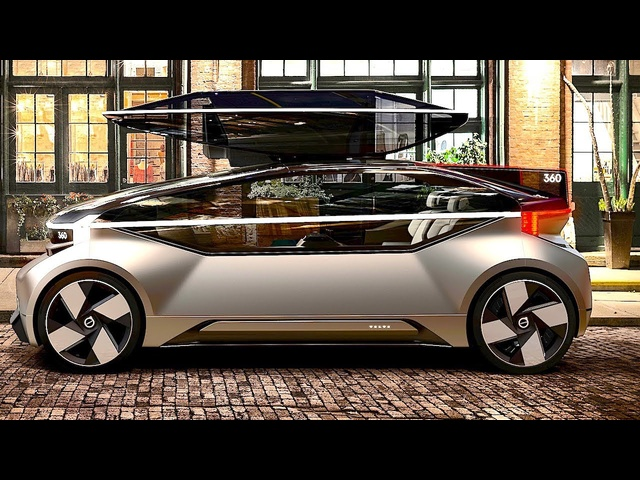 Amazing <em>Volvo</em> Self Driving Car Review In Detail! New <em>Volvo</em> 360c World Premiere 2019 CARJAM