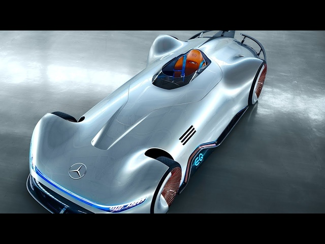 Mercedes EQ Silver Arrow World Premiere 2019 Future Mercedes Electric Autonomus Design CARJAM