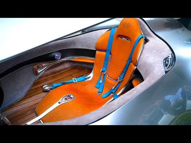 Mercedes EQ Silver Arrow INTERIOR World Premiere 2019 CARJAM