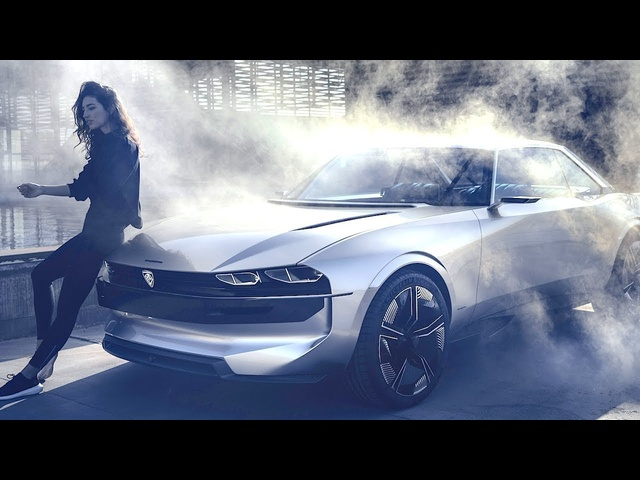 Peugeot Electric Self Driving Car Commercial World Premiere 2019 Peugeot e-LEGEND Electric 504 Coupé