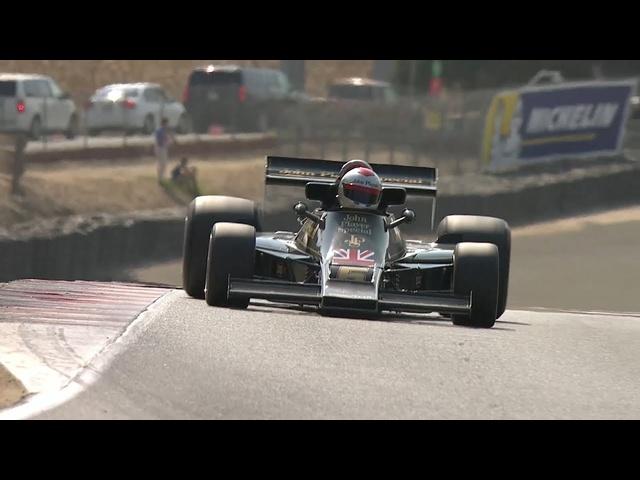 2018 Rolex Monterey Motorsport Reunion—F1
