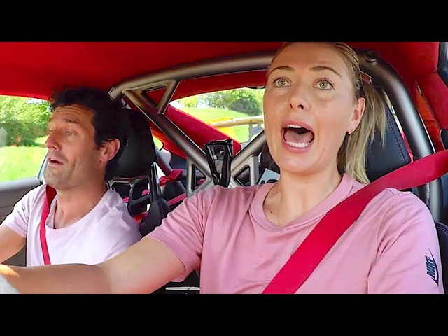 Maria Sharapova Funniest <em>Porsche</em> Commercial Ever Driving Lessons With Mark Webber 2019 CARJAM