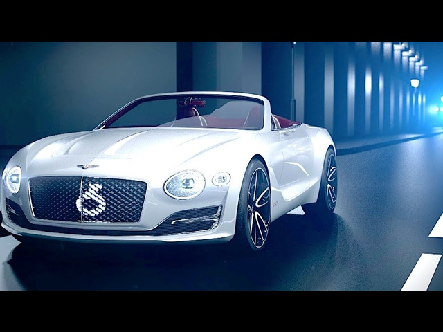 Bentley EXP 12 Speed 6e Review Live World Premiere New Bentley Electric Car 2019