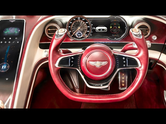 Bentley Electric Car INTERIOR Vi<em>de</em>o Bentley EXP 12 Speed 6e INTERIOR 2019 CARJAM