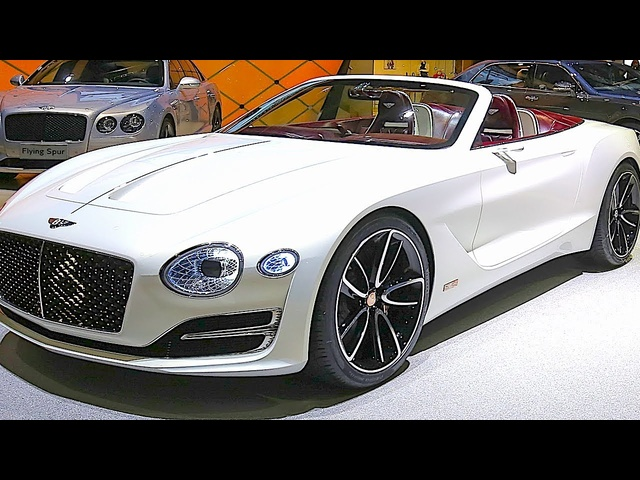 Bentley Electric Car EXP 12 Speed 6e 2019 World Premiere New Bentley CARJAM