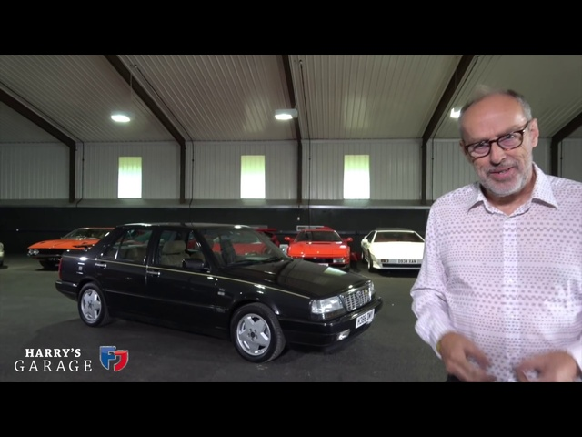 <em>Ferrari</em> V8 engined Lancia Thema 8:32 drive and review
