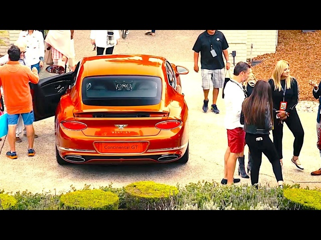 Bentley Parties Are As Deluxe As You Would Expect! Video Pebble Beach New Bentley Cars 2019 CARJAM