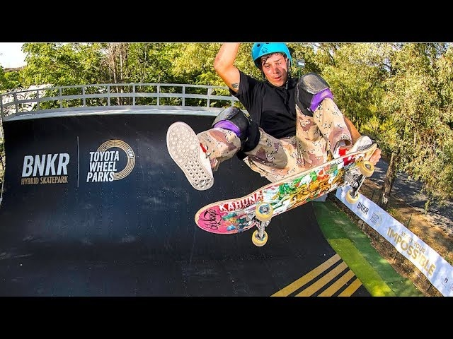 Toyota World First Hybrid Skate Park 2019 BMX |Skateboarding |WCMX WheelChair Moto Cross Skatepark