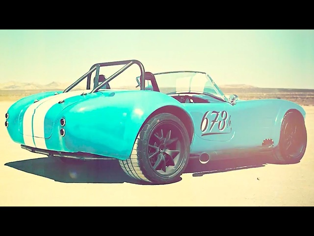 E.ON Shelby Cobra Electric Classic Car 0-60MPH 3.0 Secs! Awesome EON Electric Car Retrofit 2019