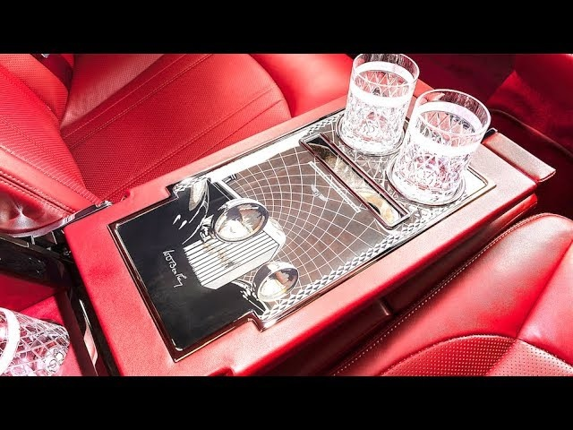 2019 Bentley Bespoke INTERIOR Cocktail Cabinet Mulliner Limited Edition 2019 Bentley Interior CARJAM