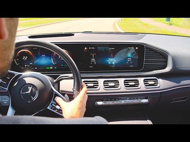 2019 Mercedes GLE INTERIOR Video In Detail World Premiere Paris Motor Show