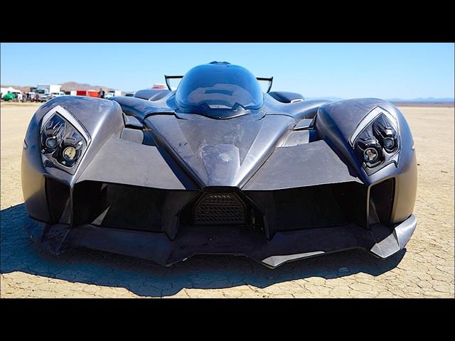 Tachyon Speed Electric Hypercar 240+ MPH SIX Motors Video World Premiere 2019 CARJAM Electric