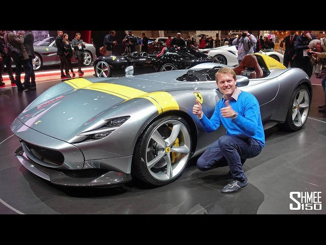 Check Out the €1.6m <em>Ferrari</em> Monza SP1 and SP2! | FIRST LOOK