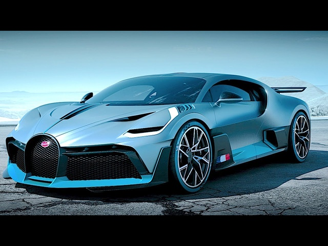 Bugatti DIVO TV Commercial World Premiere New Bugatti 2019 Hypercar Video