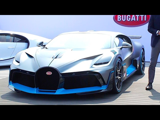 <em>Bugatti</em> DIVO REVIEW The $4 Million Hypercar Live World Premiere New <em>Bugatti</em> 2019 Hypercar Video