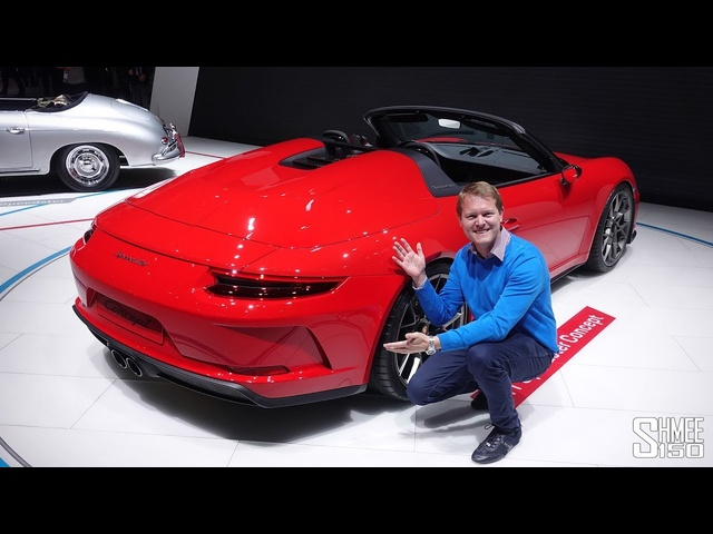 The NEW Porsche 911 Speedster is CONFIRMED! | FIRST LOOK