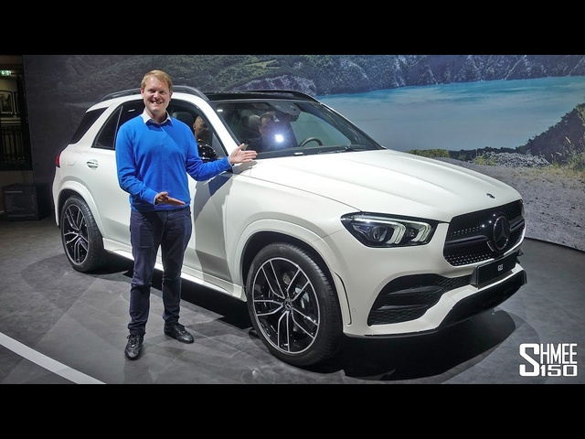 The New Mercedes GLE is a SUV Tech Fest! | FIRST LOOK