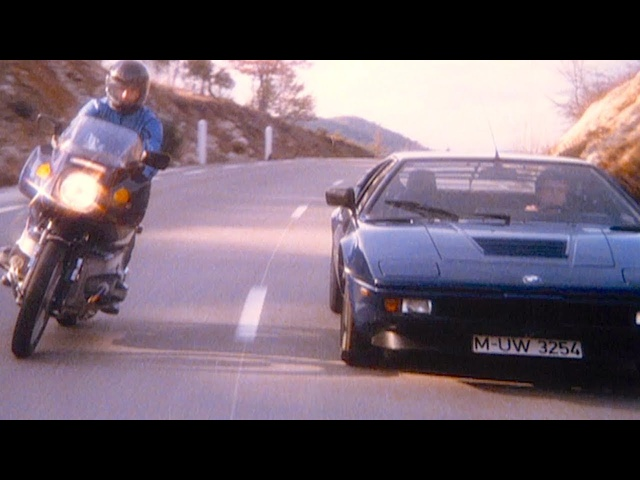"#TBT ""BMW M1"" 40 Year Old Original TV Commercial World Premiere"