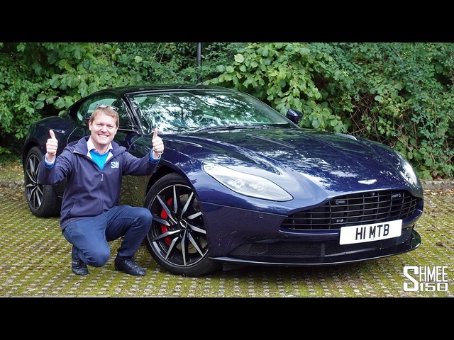My First Drive in My Dad's Aston Martin DB11!