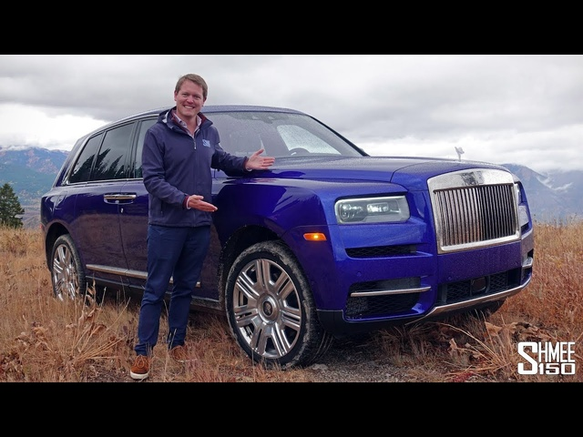 The Rolls-Royce Cullinan is the Most Exquisite SUV EVER! | FIRST DRIVE