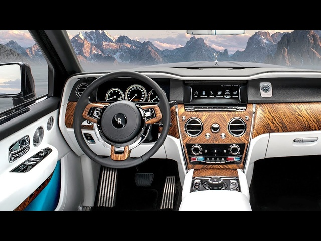 Rolls Royce Cullinan INTERIOR Review Video SUV Rolls Royce Bespoke INTERIOR 2019