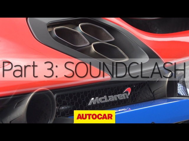 <em>McLaren</em> Senna vs 720S | Part 3: Soundclash | Autocar