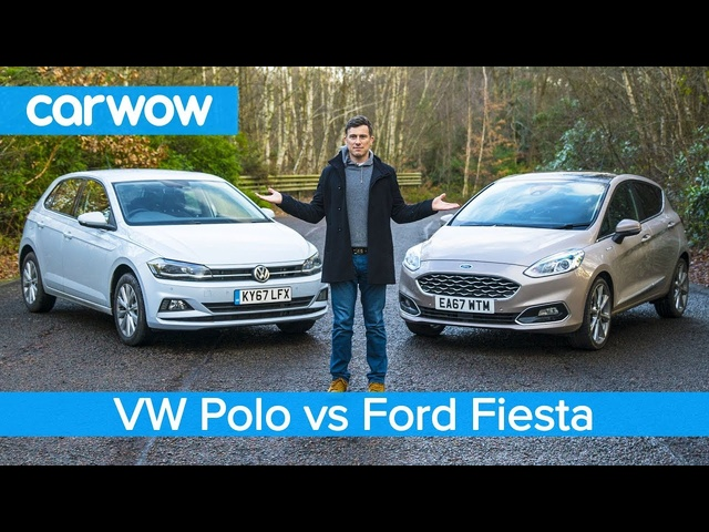 Volkswagen Polo 2019 vs <em>Ford</em> Fiesta 2019 - see which is the best small car! | carwow