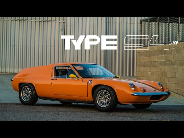 1969 Lotus Europa: Orange Slice