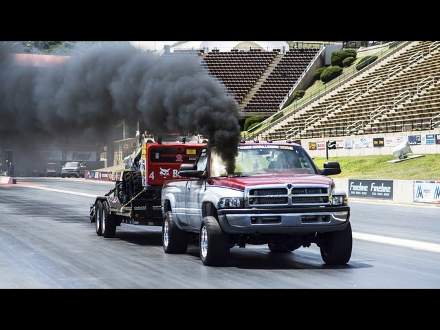 Diesel Power Challenge 2018 | Part 2 – 1/8-Mile Trailer Tow