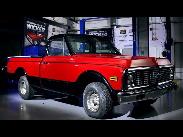 Classic Trucks Week to Wicked – LMC C-10 Day 1