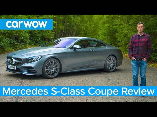 Mercedes S-Class Coupe 2019 in-depth review | carwow Reviews