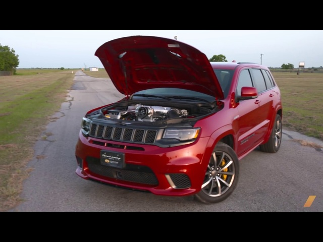 Hennessey Jeep Grand Cherokee Trackhawk: 1,012 hp Monster