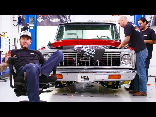 Classic Trucks Week to Wicked – LMC C-10 Day 3