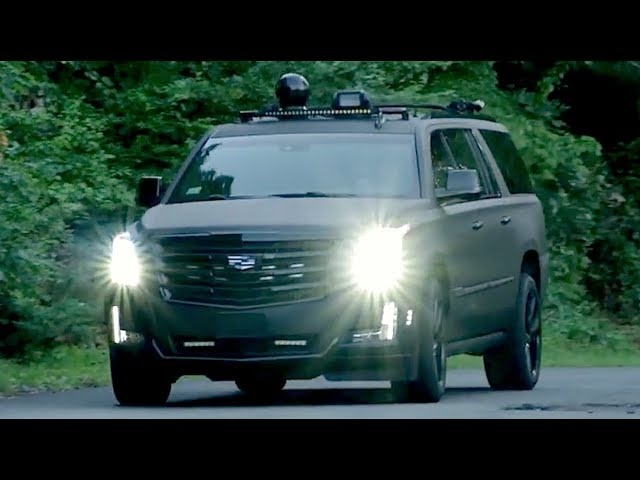 <em>Cadillac</em> Escalade ESV With FLIR And Other Toys -- /INSIDE AI DESIGN