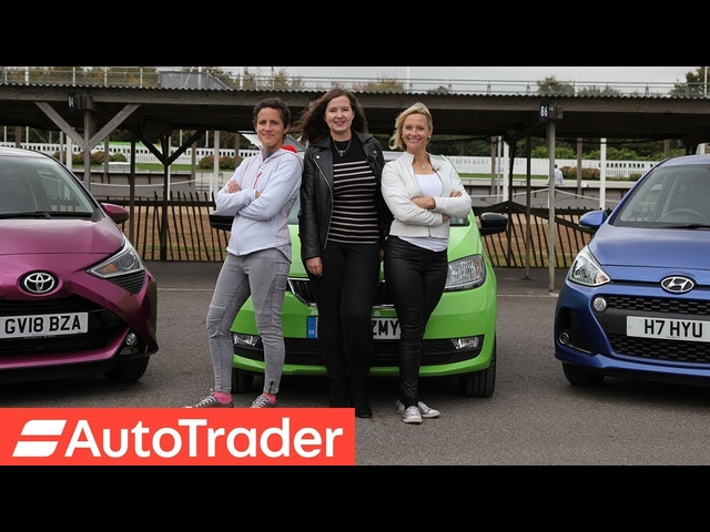The REV Test: First Cars. Skoda Citigo vs <em>Toyota</em> Aygo vs Hyundai i10