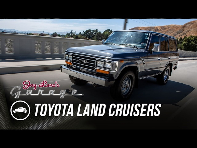 Late 80's <em>Toyota</em> Land Cruisers - Jay Leno's Garage
