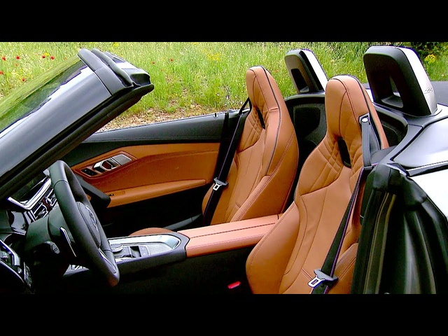 BMW Z4 M40i INTERIOR Video World Premiere G29 BMW Z4 Driving Engine Sound Video 2019 CARJAM TV