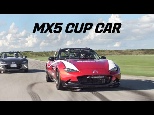2019 Mazda MX5 Miata vs MX5 RACE Car Review