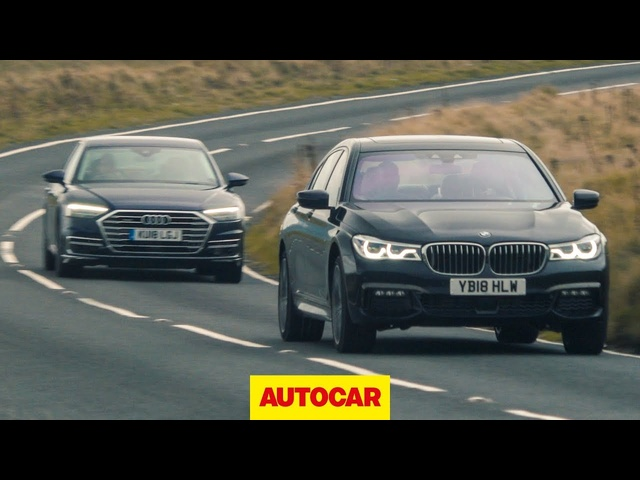 <em>Audi</em> A8 vs BMW 7 Series | What's the best luxury saloon to drive? | Autocar