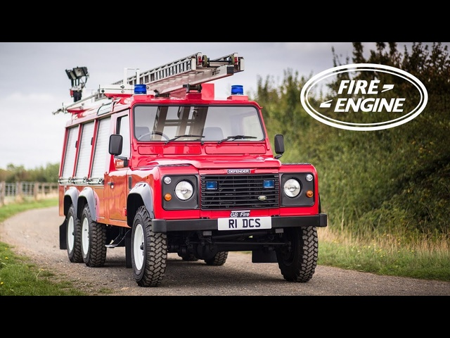 Is This 6x6 Fire Engine The Coolest Land Rover Defender? - Carfection