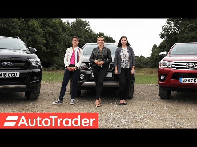 The REV Test: Pick-up trucks. Toyota Hilux vs Mitsubishi L200 vs Ford Ranger