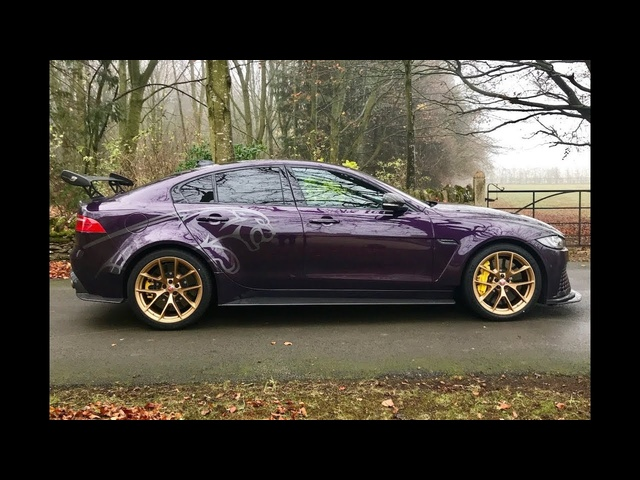 600bhp Jaguar XE SV Project 8 0-150mph acceleration test & review