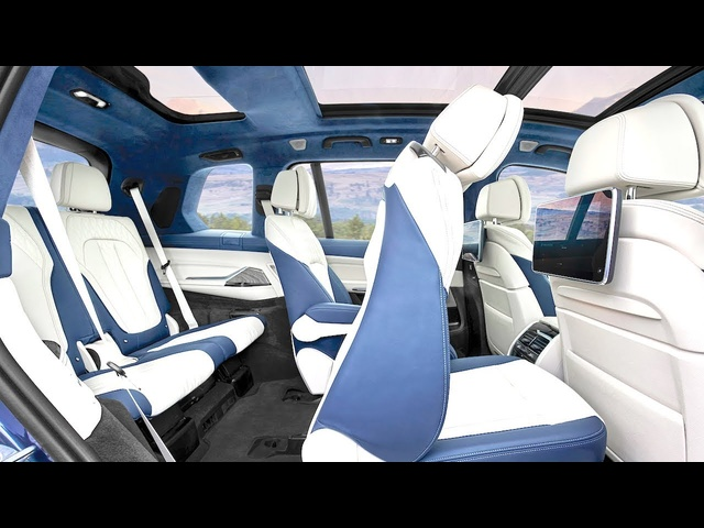 BMW X7 LIMO INTERIOR All Options Vi<em>de</em>o BMW SUV INTERIOR Vi<em>de</em>o New BMW Vi<em>de</em>o CARJAM