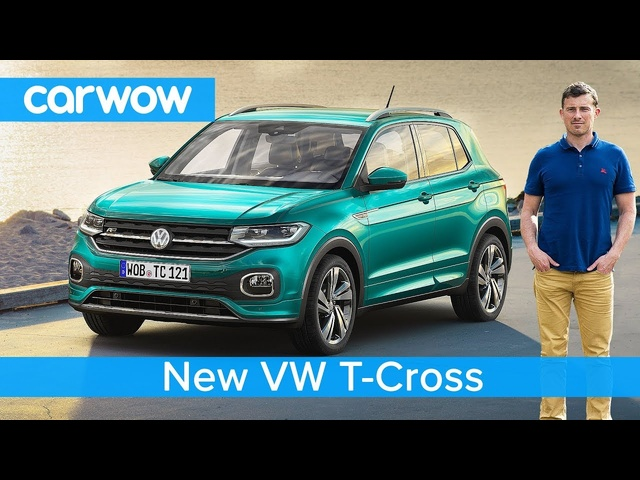 All-new VW T-Cross SUV 2019 revealed - would you have this or a Golf?
