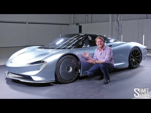 Check Out the New <em>McLAREN</em> SPEEDTAIL! | FIRST LOOK