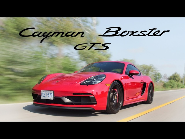 2018 Porsche Cayman GTS vs Boxster GTS Review