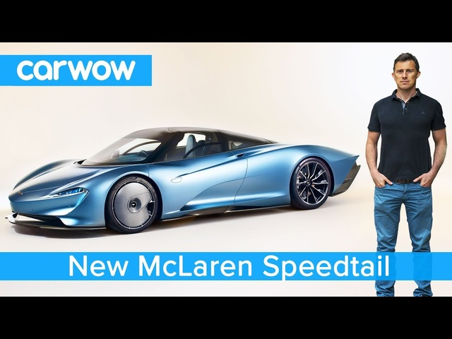 New £1.8M McLaren Speedtail hypercar revealed - it can out accelerate a <em>Bugatti</em> Chiron!