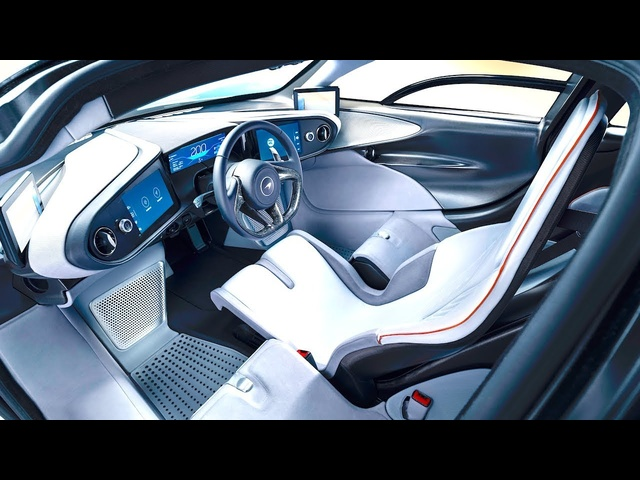 McLaren Speedtail INTERIOR 3 Seater McLaren F1 Is Back New McLaren Interior Vi<em>de</em>o 2019 CARJAM