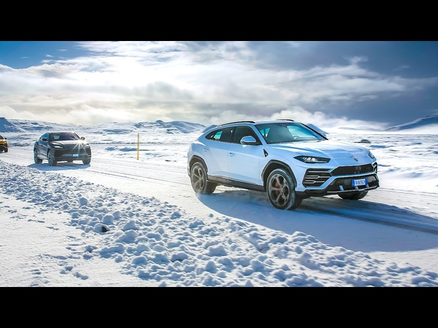 Lamborghini Urus Off Road + Wading Water In Iceland Video Lamborghini SUV Video CARJAM TV 2019