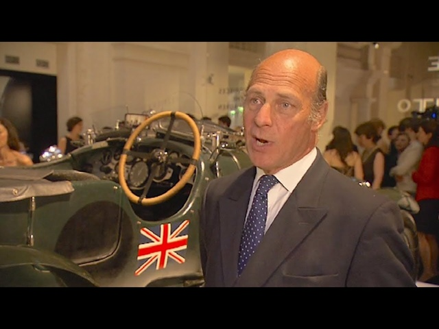 Ralph Lauren Bentley Blower Sir Tim Birkin By His Grandson Sir Tim Buxton Paris 2011 Video 2019